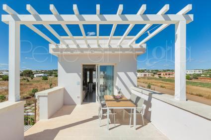 Each penthouse has a furnished verandah